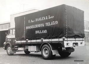 DAF-2000do F.A van DAALEN HONSELERDYK