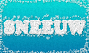 sneeuw tekst 0