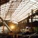 Stationsplein brandschade station Hollands Spoor 1990