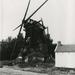 Trekweg Laakmolen na de brand 1984