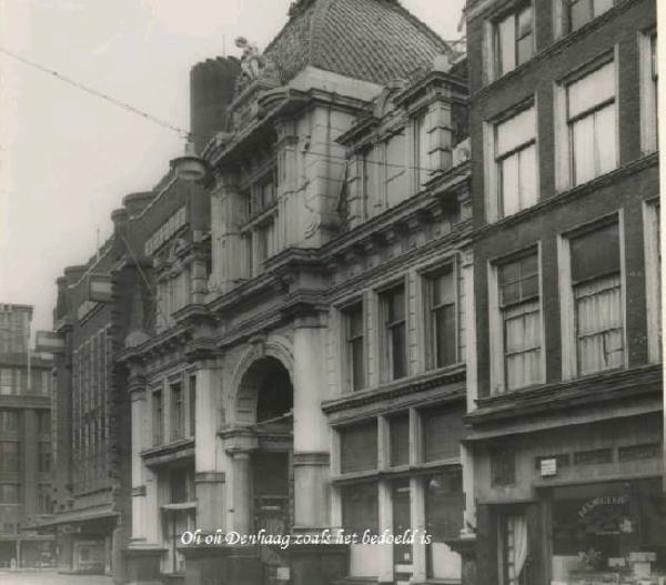 Theater Scala in de Wagenstraat 1956