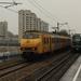 Het treintje passeert hier de Bijlmerbajes Amsterdam