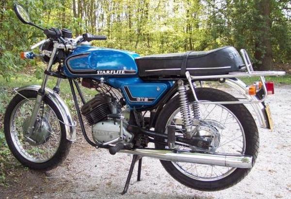 Batavus Starflite GTS 50cc - oldtimer-bromfietsen - Gratis ...  Batavus
