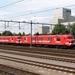 Motorpost 3034 en 3033 als BB 21  ERTMS-testtrain in Sittard.