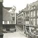 Kettingstraat 5, 7, 9 en 11 gezien van de Gortstraat-Achterom