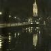 Grote Kerk gezien van het Piet Heinplein .1948
