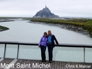 Chris & Marcel in Mont Saint Michel