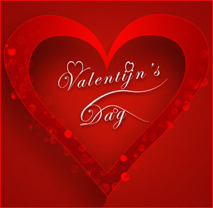 valentijn dag met hart