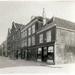 Breedstraat, gezien van de Bakkersstraat naar de Geest 1934