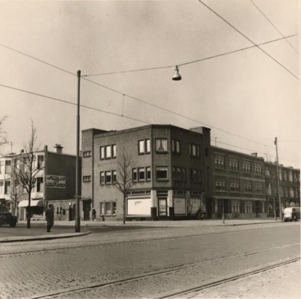 1960 Rijswijkseweg, met links de Wenckebachstraat.