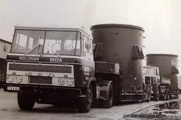 DAF-2600 HOLLEMAN BREDA