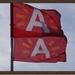 Cadixroute 2016. Tussen stad en haven. Foto vlaggen.