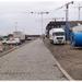 Zicht Madrasstraat oostelijke richting vanuit Kattendijkdok Oo