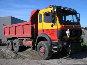 Mercedes 2729  6x6