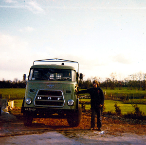 ACG - Groningen, naast de truck Appie Tuinstra