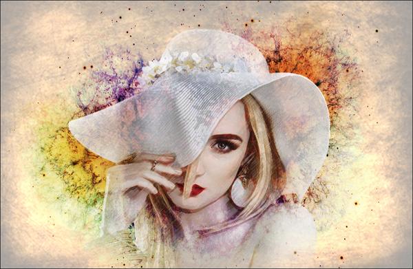 watercolor effect
