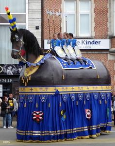 9200 Sint-Gillis-bij-Dendermonde -  het Peird van Sint-Gillis