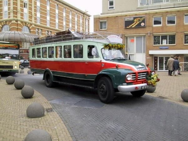 Trouwbus Bever Scheveningen 2 September 2000