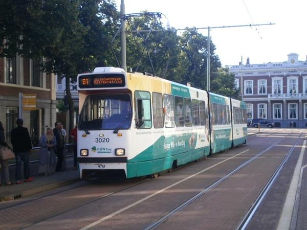 3020 als lijn 61 op 23.07.2012  Alexanderstraat