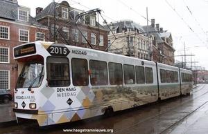 De 3037 en 3038 maken reclame voor het Mesdagjaar 2015