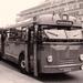 Semi toerbus 712, rondrit, Coolsingel, 30-4-1961