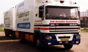 DAF-95 Van Maanen Transport Maastricht