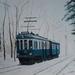 2007 De Blauwe Tram 50x70, olieverf op katoen