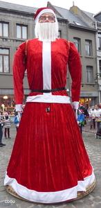 7800 Ath (Faubourg de Tournai) - Père Noël