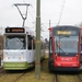 Tramlijn 9 Noorderstrand met GTL's 11 december 2016