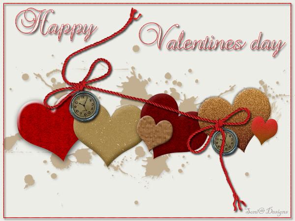 valentijns hartjes.