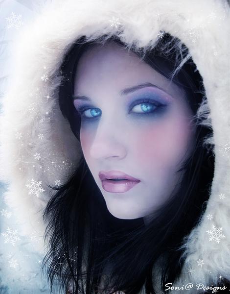 winter portret