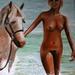 Naakt 25 - Naakt met paard.