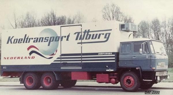 DAF-2000 KOELTRANSPORT TILBURG