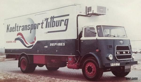 DAF-1400 KOELTRANSPORT TILBURG