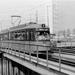 364, lijn 3, noodbrug Hofplein, 3-4-1965 J. Howerzijl