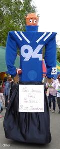 7110 Houdeng-Goegnies - le Rugbyman des Ateliers du 94