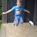 17) Ruben springt hoog in het touw