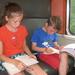 24) Op de trein naar Antwerpen op 16 juli
