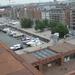 34) Panorama over de stad op 10de verdieping