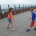 38) Spelen op het 64 meter hoge dak van Het Mas