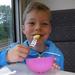 71) Ruben eet appel