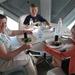82) Middagetentje in restaurant Atomium