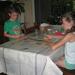 143) Domino spelen met Delhaizekaarten