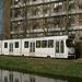 3095 in de eindlus van tramlijn 12 in Moerwijk. 04-03-95