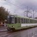 De groene 6021 tijdens proefritten