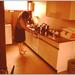 Tiny bezig in de keuken