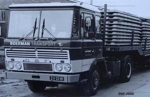 DAF-2600  BOERMAN TRANSPORT