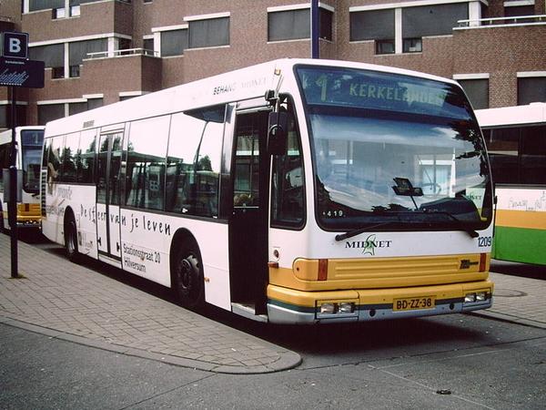 Midnet 1209 Hilversum station