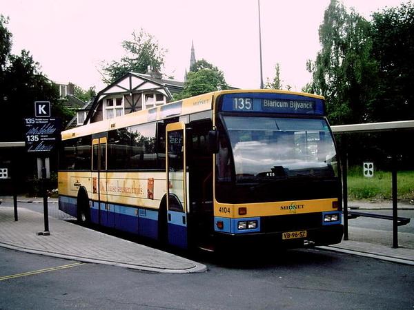 Midnet 4104 Hilversum station
