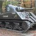 De Sherman M4, tank.
